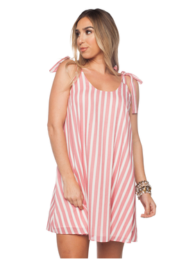 Buddy Love Wholesale Kerr Pink Stripe Dress by Buddy Love