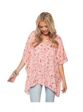 Buddy Love Wholesale North top in Flamingo