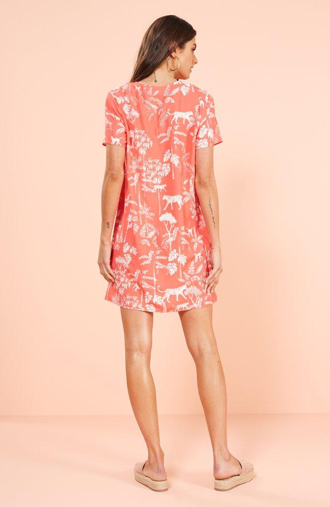 House Of Quirky Sahara breeze t shirt dress