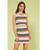 House Of Quirky open air stripe mini skirt