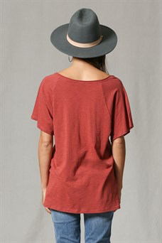 By Together Oversized Pocket Tee