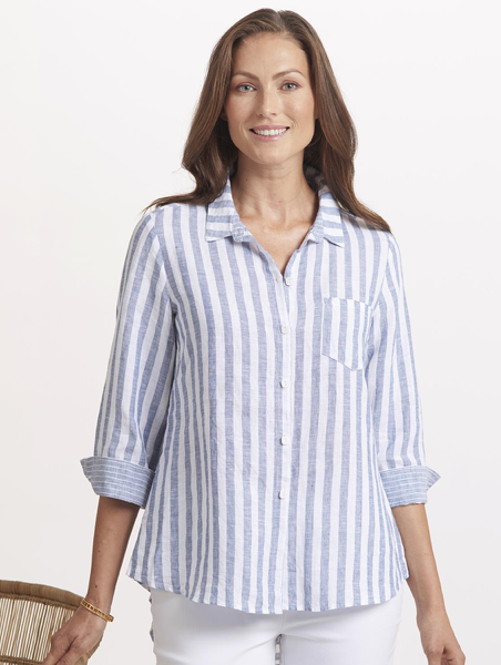 Habitat Seaside linen stripe tunic by Habitat