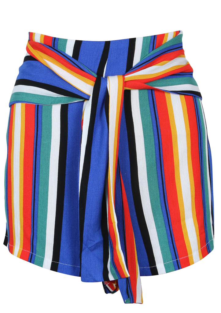 House Of Quirky After dark tie shorts