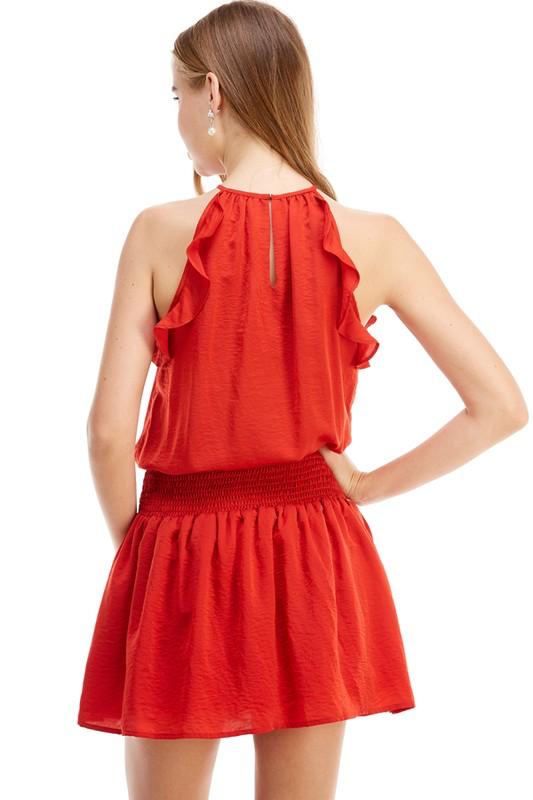 TCEC Drop Waist Dress