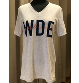 Kickoff Couture Iconic v neck tee