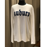 Kickoff Couture Varsity club long sleeve sueded tee