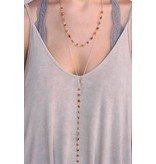 Caroline Hill Carson Double Layer Delicate Necklace