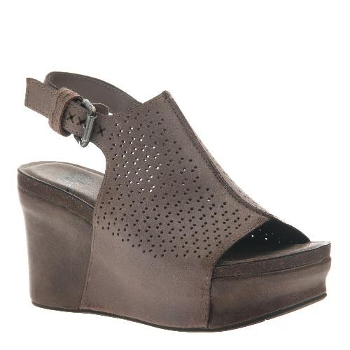 Consolidated Shoe Co. Jaunt Wedge OTBT, GreyPowder