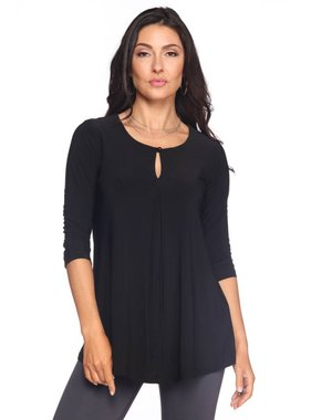 Last Tango Keyhole top with 3/4 sleeve