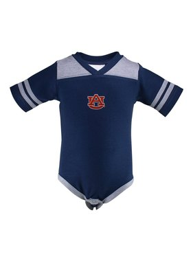 Two Feet Ahead Football Onesie