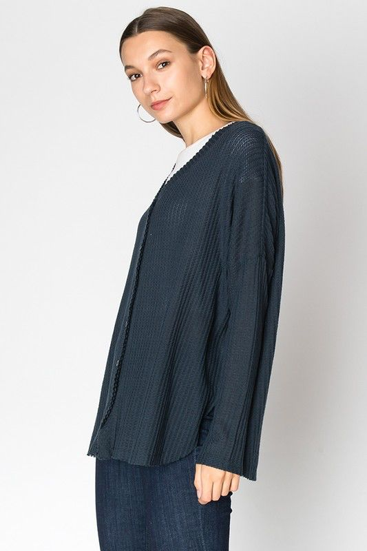 HYFVE Brushed hacci knit thermal