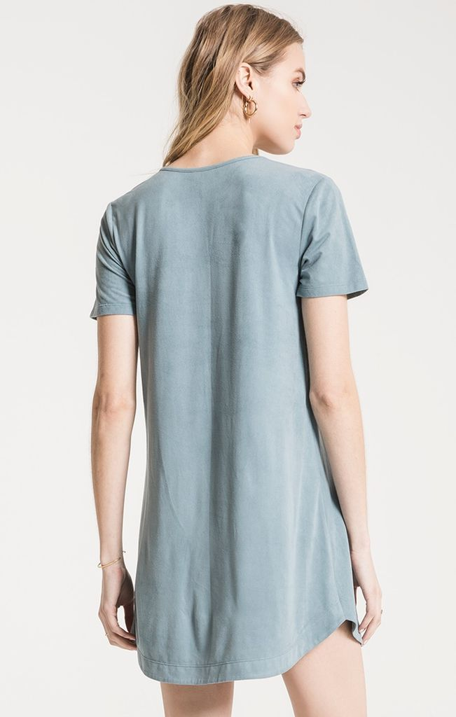 Z Supply The suede cut out dress