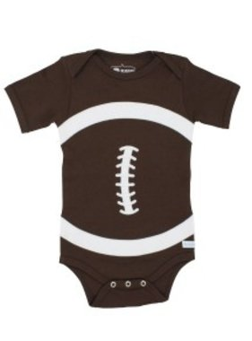 Ruffle Butts Football bodysuit