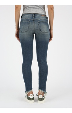Articles of Society Sammy diagonal hemline jean