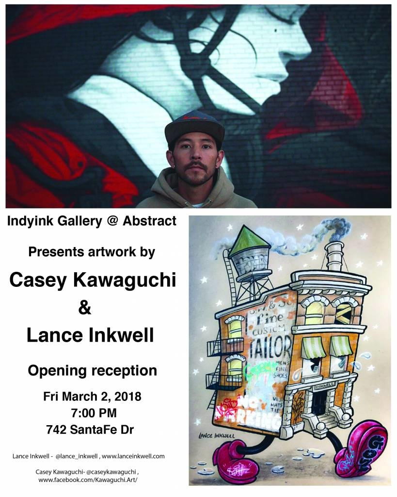 MARCH 2nd, 2018 - Lance Inkwell, Casey Kawaguchi