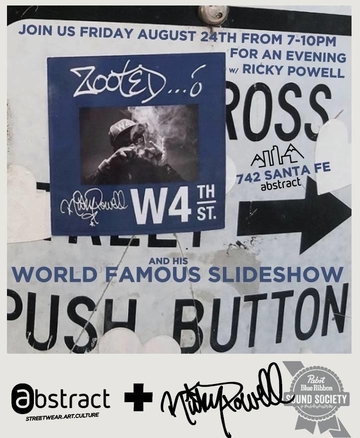 RICKY POWELL'S - World Famous Slideshow 8/24