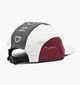 Diamond Supply DIAMOND SUPPLY MARQUISE CLIPBACK HAT IN A GREY/WHITE/RED COLORWAY,