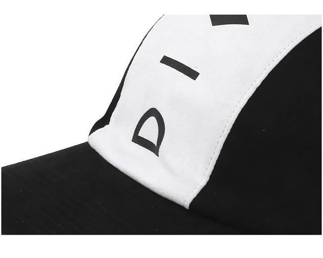 Diamond Supply Marquise Clip Back 5-Panel Snapback Black