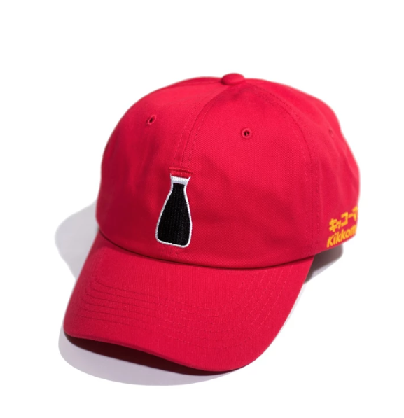 PRIMITIVE X KIKKOMAN COLLAB DAD HAT
