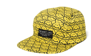 SMILEY 5 PANEL CAMPER HAT
