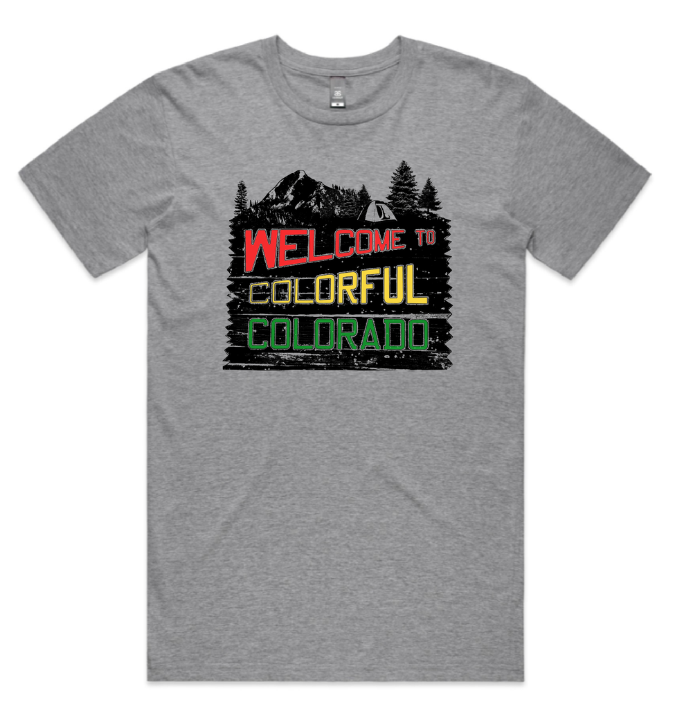 Welcome to Colorful Colorado Tee