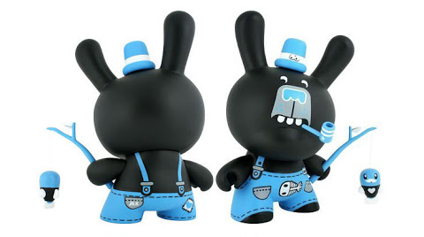 Plastic Chapel Kidrobot 3 Bears Dunny Collectible