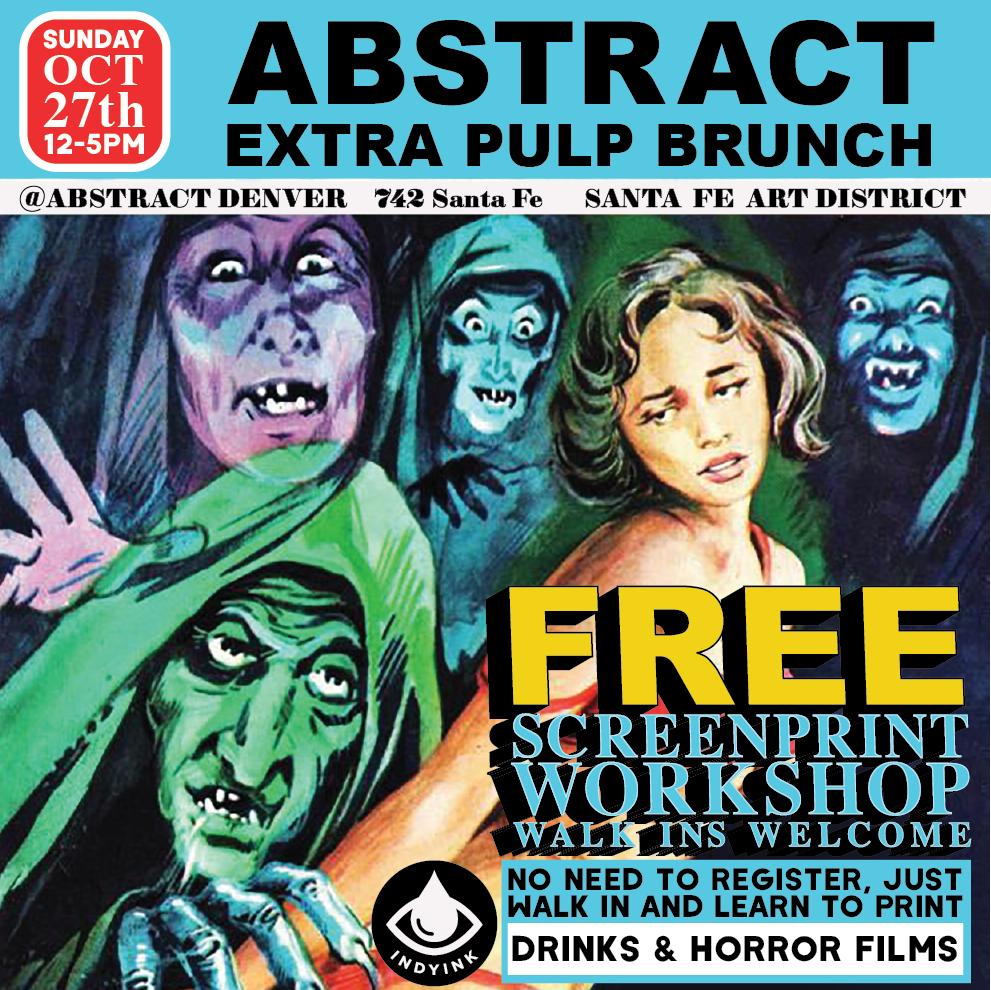 October 27th, 2019  Art of Brunch Workshop