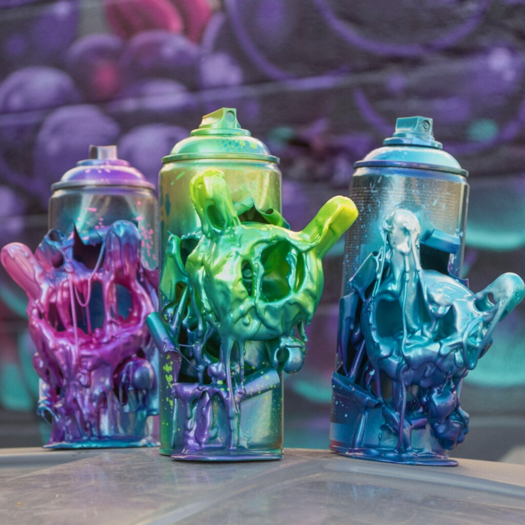 Artist Mr. Mars Studios Hand-Made Berry Bombers