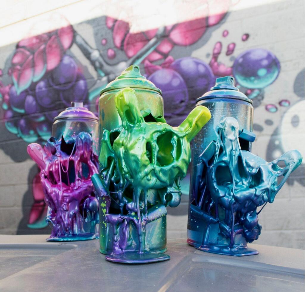 Artist Mr. Mars Studios Hand-Made Bombers