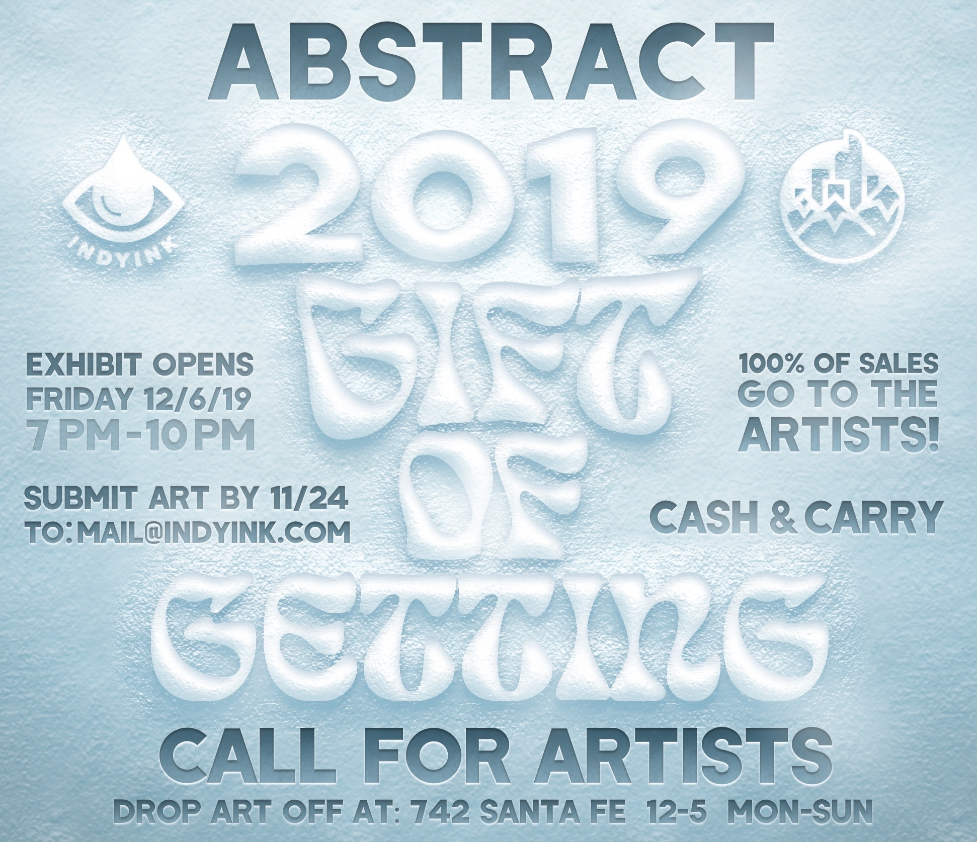 Gift of Getting Call for Artists~