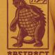 Godzilla Kaiju Gamera Zip-Up Hoodie