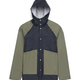 Featuring a clean and minimal aesthetic, the Rainwear Men's<br /> Classic jacket is built with a durable waterproof stretch fabric.<br /> Detailed with metal hardware and subtle branded finishes, this<br /> functional style includes welded raglan seams and concealed<br /> ventil