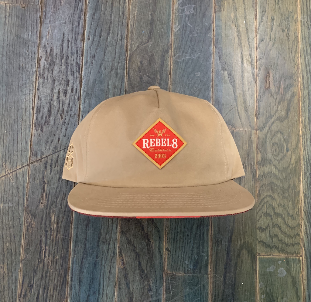 Rebel8 Draft Snapback