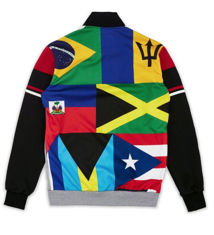 Reason Worldwide Track Jacket