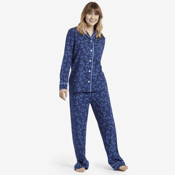 Life is Good Womens Sleep Set, Moons