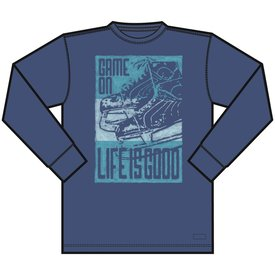 Life is Good Men's Crusher L/S, Game On
