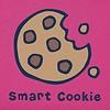Toddler Crusher Tee, Vintage Smart Cookie