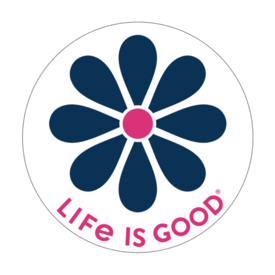 Life is Good LIG Sticker Daisy
