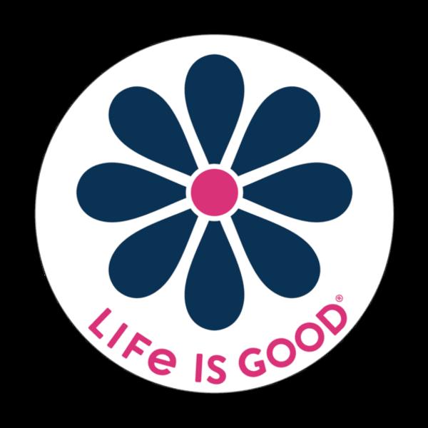 Life is Good LIG Sticker Daisy