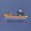 Men's Crusher Tee, Vintage Happy Camper