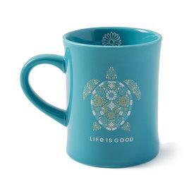 Diner Mug, Turtle, Harbour Blue