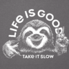 Womens Cool Tee Take it Slow Sloth