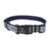 Reflective Dog Collar, Happy Trails