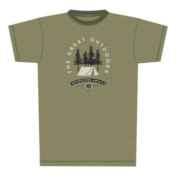 Men's Cool Tee, The Great Outdoors Camp