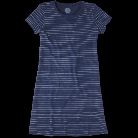 Womens T-Shirt Dress, Stripes