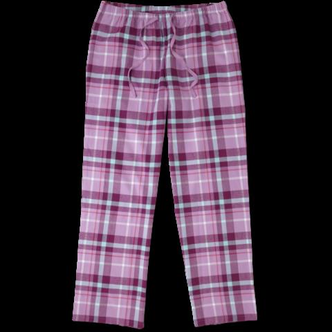 Womens Plaid Sleep Pants, Plaid