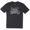 Men's Crusher Tee, Freedom Machine Motorcycle