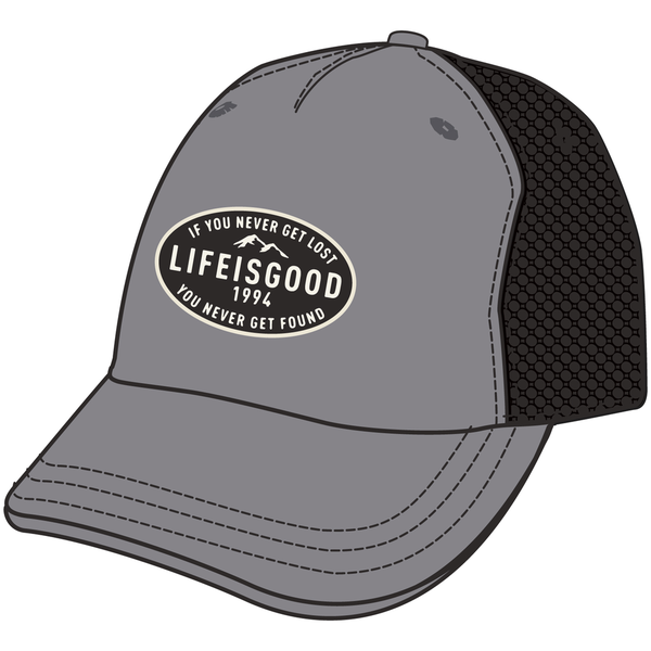 Life is Good Mesh Back Chill Cap, Get Lost