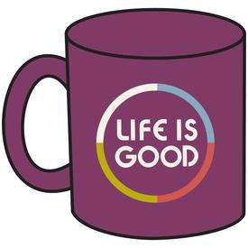 Life is Good Jake's Mug, Life is Good, Wild Plum