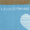 Womens Crew Socks Love Strong